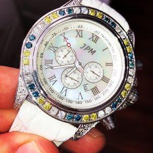 Men's Techno JPM Diamond Watch 3.00 Carats